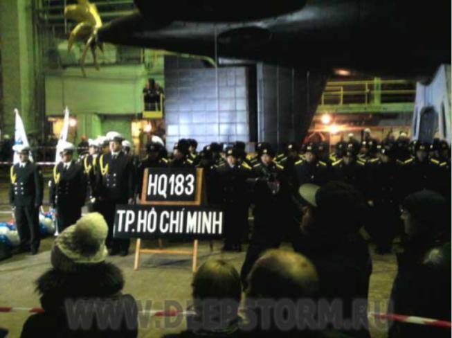 Phản ứng của Trung Quốc với việc Việt Nam nhận tàu ngầm từ Nga