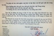 Công văn yêu cầu trừ 1 ngày lương của Hội Khuyến học huyện Kỳ Sơn, tỉnh Nghệ An (Ảnh CTV)