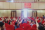 Huyện Sóc Sơn đối thoại với giáo viên hợp đồng về vấn đề tuyển dụng đặc cách