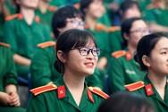Điểm chuẩn khối trường Quân sự cao nhất 28,5 điểm, kèm tiêu chí phụ