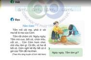 """""""Sạn"""" trong sách giáo khoa Tiếng Việt lớp 1 không chỉ riêng bộ Cánh Diều"""