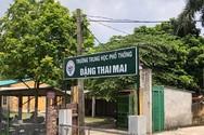 Sở dừng tuyển sinh trường Đặng Thai Mai, thầy cô lo lắng, học sinh thiệt thòi