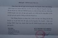 Bí thư huyện Hậu Lộc chỉ đạo vào cuộc vụ cô giáo bị hạ thi đua vì chống tiêu cực