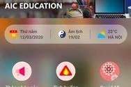 """Tự thiết kế lớp học trực tuyến dễ dàng từ ứng dụng miễn phí """"AIC Education"""""""
