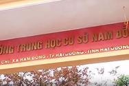 Giáo viên bị điều chuyển ở trường Nam Đồng khiếu nại lên chủ tịch tỉnh Hải Dương