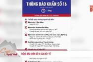 Bộ Y tế ra thông báo khẩn liên quan tới chống Covid-19 tại Đà Nẵng