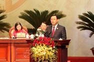 497/497 đại biểu giới thiệu bầu ông Vương Đình Huệ giữ chức Bí thư Thành uỷ