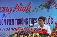 Sở Nội vụ Thanh Hóa sẽ hướng dẫn thu hồi quyết định bổ nhiệm Hiệu trưởng Ngư Lộc