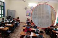 Cuốn sổ hé lộ nhiều khoản thu của Trường Tiểu học Cộng Hiền, Vĩnh Bảo