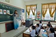Học sinh Bình Thuận (Ảnh: Phan Tuyết)