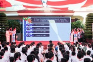 Đến trường Tô Hiệu nghe học sinh nói tiếng Nhật như gió
