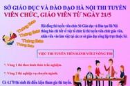 Những điều thầy cô cần biết về kỳ thi tuyển viên chức giáo viên Hà Nội 21/5