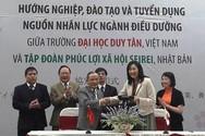Nhật Bản hỗ trợ Đại học Duy Tân đào tạo ngành điều dưỡng