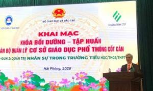 Bộ trưởng Nguyễn Kim Sơn (Ảnh VOV)