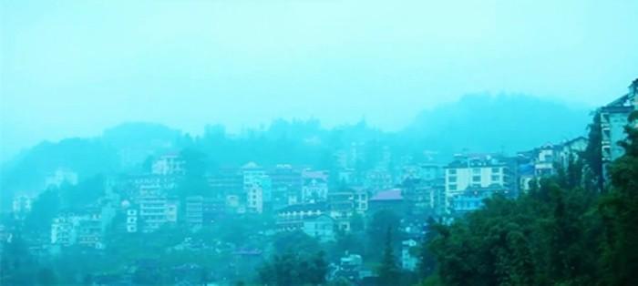 Clip: Sắc xuân tràn ngập trên thị trấn Sapa - Lào Cao