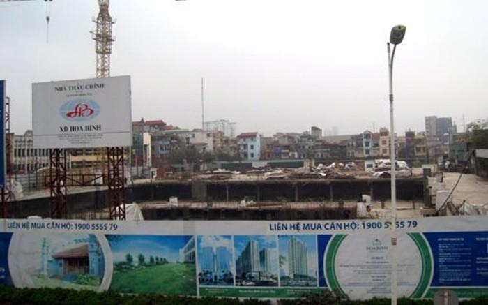 Bị đình chỉ vì xây không phép, chủ đầu tư Hòa Bình Green City nói gì?