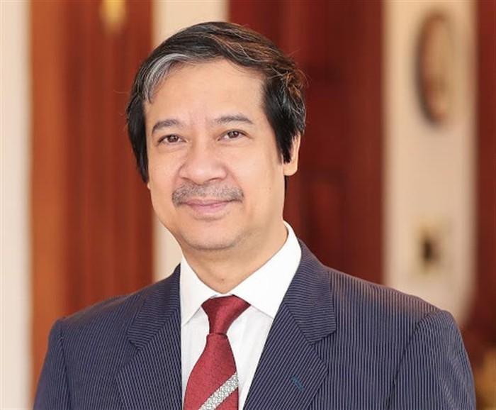 Tân Bộ trưởng Nguyễn Kim Sơn. Ảnh: moet.gov.vn.