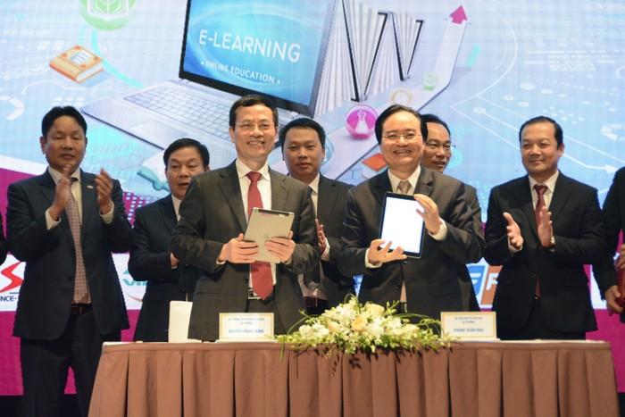 Việt Nam phấn đấu thành một trong quốc gia hàng đầu về chuyển đổi số giáo dục