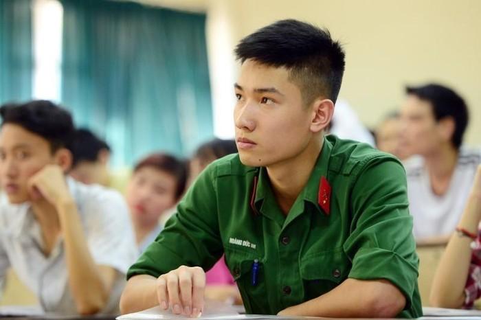 Chi tiết điểm xét tuyển vào 17 trường quân đội