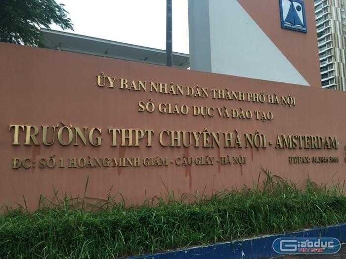 Thí sinh thi lớp 10 ở Hà Nội lưu ý cách đăng ký nguyện vọng vào 4 trường chuyên