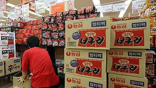 Mì ăn liền Hàn Quốc chứa chất gây ung thư nhóm 1