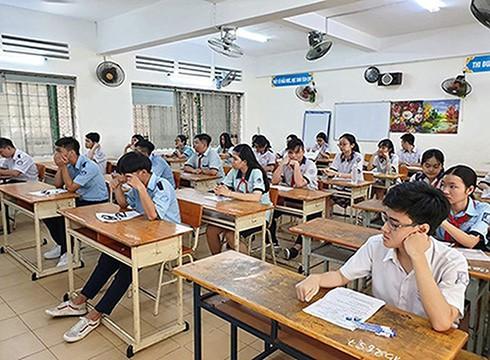 Thành phố Hồ Chí Minh công bố chỉ tiêu tuyển sinh vào lớp 10