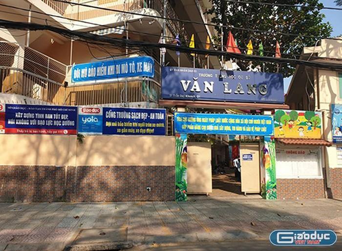 Trường trung học cơ sở Văn Lang bị thanh tra tài chính