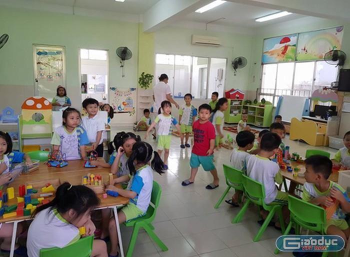 Giáo viên mầm non mới ra trường ở Sài Gòn sẽ được tăng lương gấp đôi