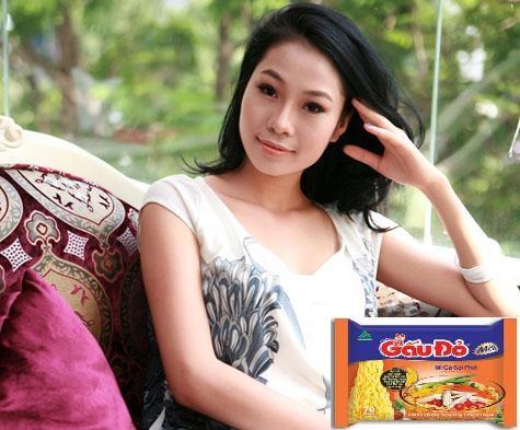 Diễn viên bán dâm nghìn đô Hồng Hà từng tham gia quảng cáo mì Gấu đỏ?