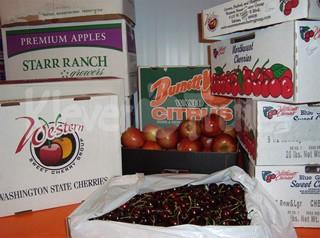Mẹo nhỏ phân biệt hoa quả Mỹ, Úc với hàng Trung Quốc