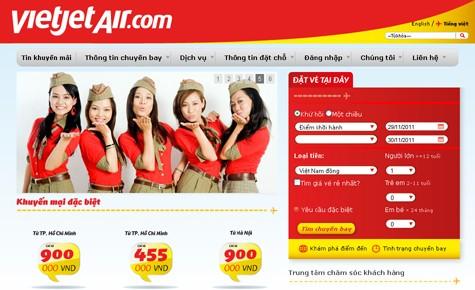 Lỗi internet, khách mua vé của VietJetAir phải trả phí 2 lần bay