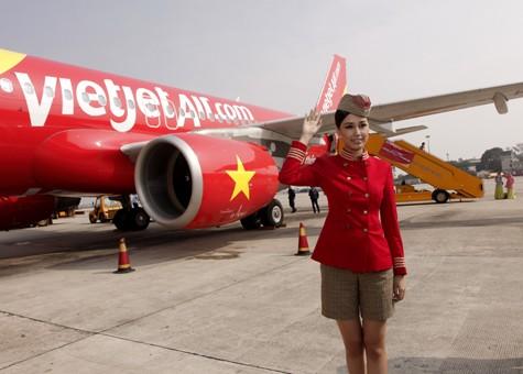 """Lần đầu tiên hãng hàng không tư nhân VietJetAir """"xuất ngoại"""""""