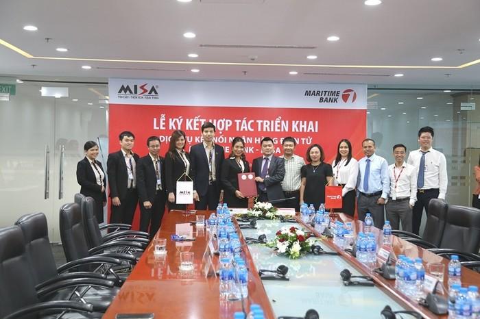 Maritime Bank và MISA tiên phong kết nối hệ thống gia tăng lợi ích doanh nghiệp