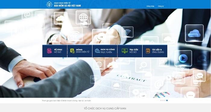 Bảo hiểm xã hội Việt Nam cung cấp các dịch vụ công mức độ 4