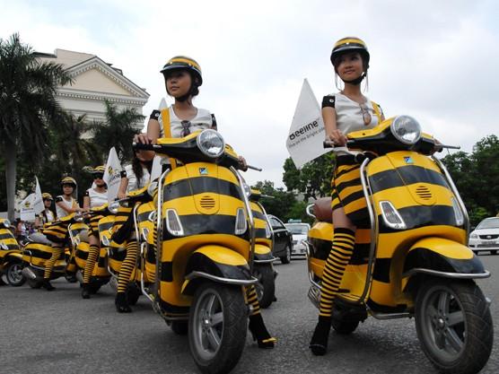 Chùm ảnh Beeline tại Việt Nam: Đến rầm rộ, đi ngậm ngùi
