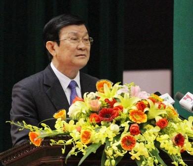 Thư của Chủ tịch nước Trương Tấn Sang nhân dịp năm học mới
