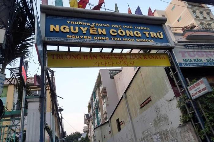 Thành phố Hồ Chí Minh kết luận vụ chỉnh sửa điểm thi ở trường Nguyễn Công Trứ