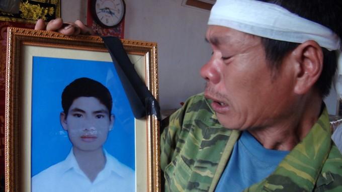 Bài thơ cảm động của TS Lê Thống Nhất tặng em Nguyễn Văn Nam