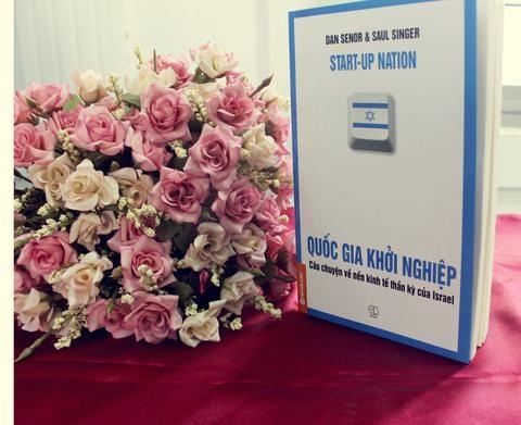 Quốc gia khởi nghiệp, quyển sách hớp hồn CEO Đặng Lê Nguyên Vũ