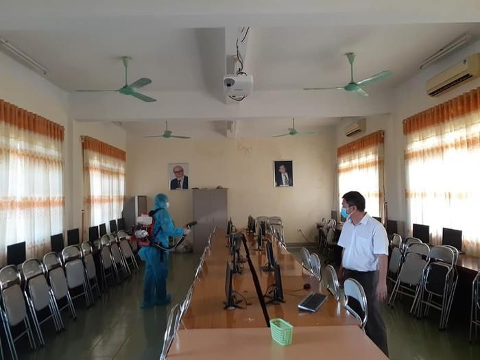 Quảng Trị cho học sinh tạm dừng đến trường phòng Covid-19