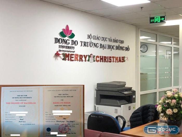 Có 2 trong số 76 người sử dụng bằng giả của Đại học Đông Đô bị miễn nhiệm