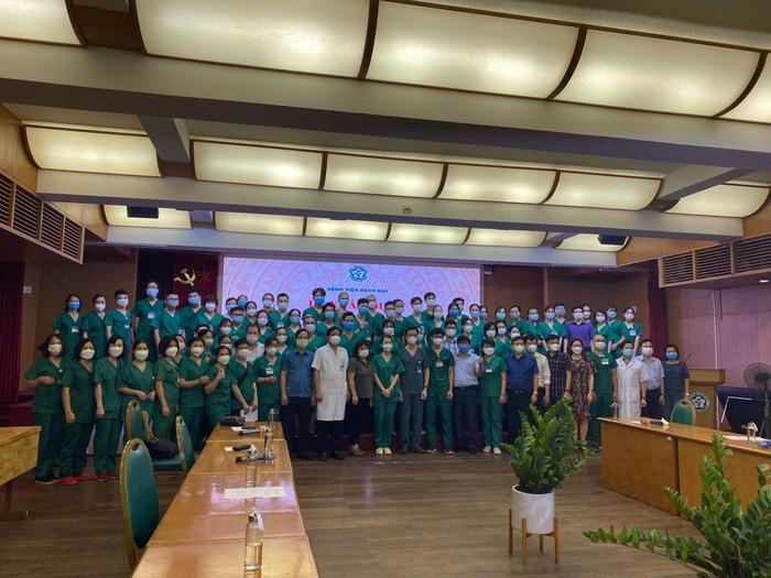Trường Cao đẳng Y tế Bạch Mai chi viện cho Thành phố Hồ Chí Minh chống dịch
