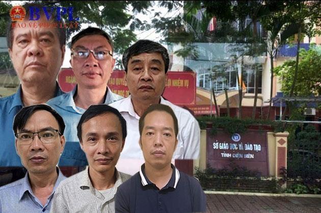 Giám đốc Sở Giáo dục Điện Biên và các đồng phạm bị khởi tố, bắt tạm giam