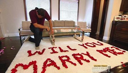 Màn cầu hôn lãng mạn của Kris hồi tháng 5 vừa qua.