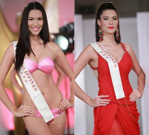 Hoa hậu Philippines - Á hậu 1 Miss World 2011. Ảnh: GB