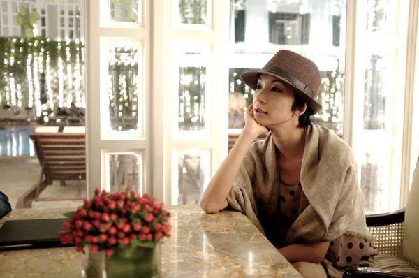 Xuân Lan thưởng cho mình những ngày nghỉ ở Hà Nội sau những tuần liên tục dồn sức cho Vietnam's Next Top Model.