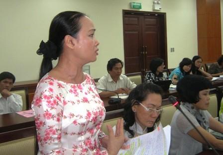 Bà Nguyễn Thị Thu Cúc.