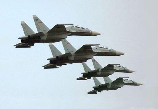 Trung Quốc biên chế J-16 cho HĐ Nam Hải tuần tra trái phép Hoàng Sa?