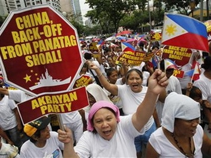 Philippines kêu gọi toàn dân ủng hộ Chính phủ kiện Trung Quốc ra tòa