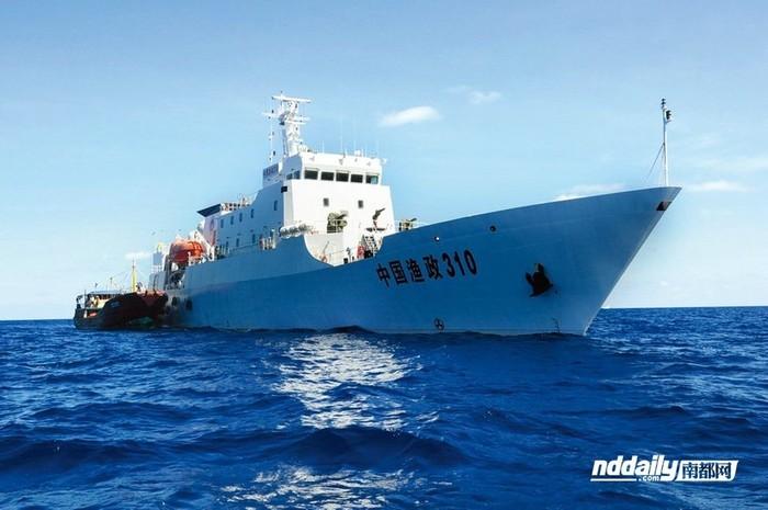 Trung Quốc đóng tàu lớn hàng chục ngàn tấn